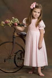 white smocked dresses for little girls strasburg children heirloom