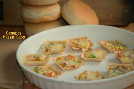 baked canapes baked canapes pizza cups nee s kitchen