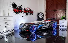 Flash GT Racing Car Bed Black Car Bed Shop