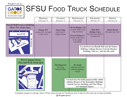 Sf State | SFSU Gator Group Truck Stop Sf Photos Facebook 5000 Wyoming St Dearborn Mi 48126 Terminal Property For The Mission Has A New Foodtruck Park Eater Is Getting Yet Another Cheap Tasting Menus Guide To Celeb Booze Brands Sf Bi Double You Car Slams Into Muni Bus Stop In Sfs Chinatown Juring 10 Sfgate Home Seven Injured After Box Crashes Into Vehicle Pedestrians