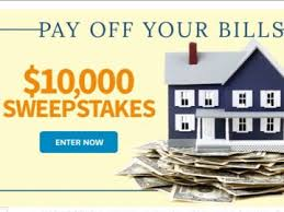 Homes & Gardens Pay f Your Bills $10 000 Sweepstakes