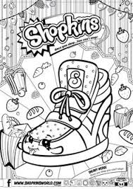 Free Shopkins Colouring Pages Page 2