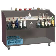 Advance Tabco M-B Portable Bar With ABS Molded Work Top - 61