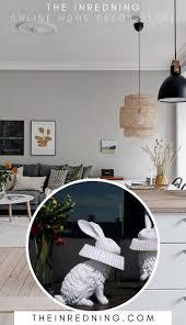 hasenle mit deko skulptur für wohnzimmer schlafzimmer