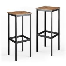 vicco barhocker barhocker barstühle 2er set küchenstühle mit fußstütze für bartisch küche kaufen otto