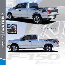 100 Truck Decals And Graphics Ford F150 Stripes Package ROUTE RIP 3M 20152018 2019 Wet And