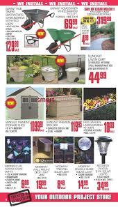 Suncast Db5000 50 Gallon Deck Box by J U0026h Builder U0027s Warehouse Flyer May 9 To 23