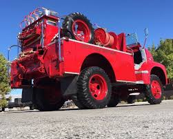 100 Ford Fire Truck Incredibly Rare 1956 COE Is An Unlikely Survivor