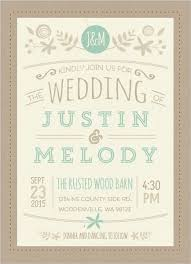 Nature Mint Kraft Wedding Invitation By WeddingPaperie