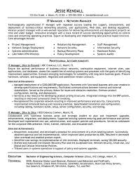 Resume Examples For It Security With Best Operations Manager Example To Frame Stunning