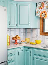 Tiffany Blue Kitchen Cabinets