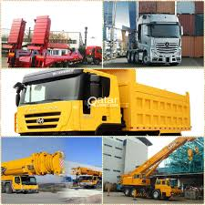 TRAILER/FORK LIFT/DUMP TRUCK/BULKER FOR RENT | Qatar Living