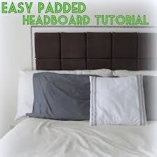 Aerobed Premier With Headboard by Making A Padded Headboard U2013 Clandestin Info