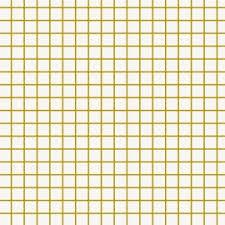 toile coton impermeable au metre coton enduit mat design petits carreaux doré blanc x 10cm