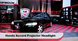 spyder auto installation 1998 2002 honda accord projector