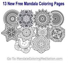 Madala Coloring Pages For Adults Are So Cool This Site Has About 20 Free Mandala