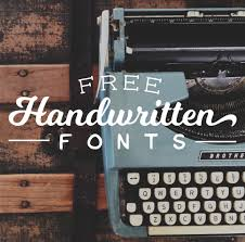 Font Must Haves 003 Free Handwritten Fonts