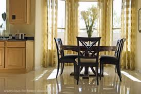 Curtain Ideas For Dining Rooms Marvelous Decoration Curtains Room Decor And