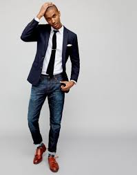 j crew shows how to style the navy blazer