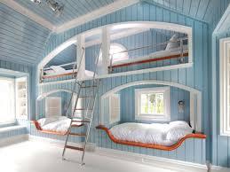 Bedroom Ideas Two Tone Stripes Wall Paint Teenage Girl