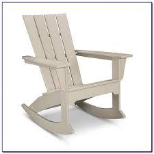 Polywood Seashell Adirondack Rocking Chair by Adirondack Rocking Chair Gallery Of Classic Westport Adirondack