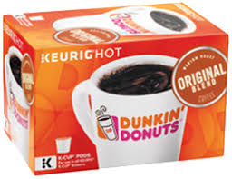 Keurig Pumpkin Spice Coffee Nutrition by K Cup Pods Dunkin U0027 Donuts