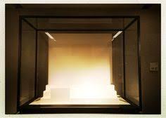 Empty Display Case Neues Museum Berlin