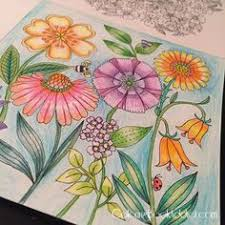 Flower And Garden Coloring Books For Adults Coloringbookaddict