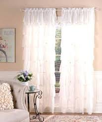 Pink Ruffled Window Curtains by Ruffled Window Curtains Lush Decor White Inch Ruffled Window