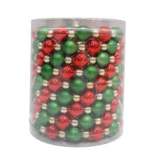 Decorate Christmas Tree Garland Beads by Shop Holiday Living Feet L Garland Lights At Lowes Com