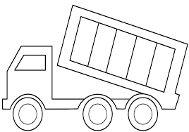 Best Dump Truck Coloring Pages 82 With Additional Free Book