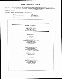 100 Reference Page Resume Sheet MABN Sample For