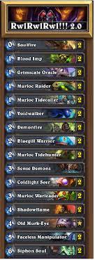warlock murloc deck 2015 warlock murloc overview
