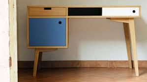 bureau stylé cuisine bureau style scandinave en chãªne meubles et rangements par