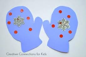 Mittens Will You Wear A Blue Hat Easy Winter Craft Toddler Crafts For Students January Ideas