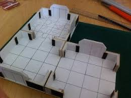 3d Dungeon Tiles Uk by Fantasy Painting And Modeling Modular 3d Dungeon Building On A