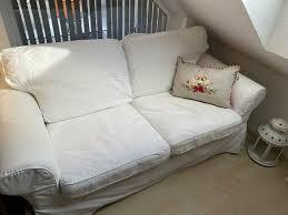 ikea ektorp 2er sofa sessel sitzecke weiß abholung