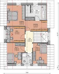 pultdachhaus bauen 130 m schlafzimmer mit ankleide 2