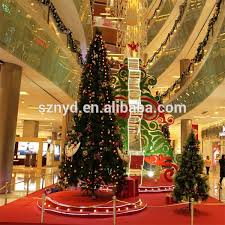 Giant Christmas Tree Scenes For Indoor Large Shopping Mall