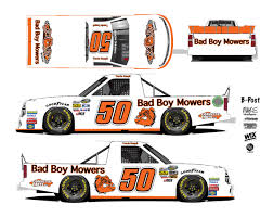 Bad Boy Mowers Returns To Talladega With Make Motorsports ... Weekend Schedule For Talladega Surspeedway Pure Thunder Racing No 22 Truck Will Have A Trumppence Paint Scheme Todd Gliland Goes Wild Ride Nascarcom Fr8auctions Set To Become Eitlement Sponsor Of Truck Bad Boy Mowers Returns To With Make Motsports Lyons Pairs Reaume For Race Speed Sport Free Friday Mechanical Woes Knock Chase Briscoe Out Series Playoffs At Kvapils Good Run Ends In The Big One At New Nascar Flaps Malfunctioning Select Teams News 2014 Freds 250 Camping World