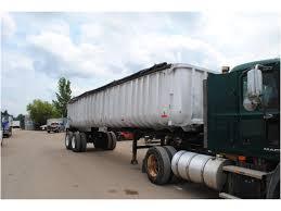 100 End Dump Truck 1977 HOBBS 32 FT FRAMELESS END DUMP Trailer For Sale