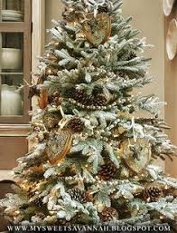 Balsam Hill Premium Artificial Christmas Trees by 7 5 U0027 Flocked Noble Prelit Artificial Christmas Tree Winter