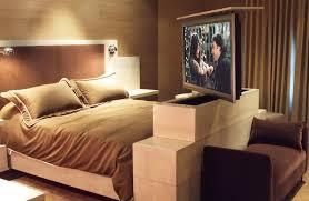 Custom Hidden TV Cabinet