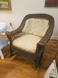 Heywood – Wakefield Rocker C1910 #KN400 – Dearing Antiques Woodys Antiques Specializing In Original Heywood Wakefield Details About Heywood Wakefield Solid Maple Colonial Style Ding Side Chair 42111 W Cinn Antique Rattan Wicker Barbados Mahogany Rocking With And 50 Similar What Is Resin Allweather Fniture Childrens Rocker By 34 Vintage Chairs By Paine Rare Heywoodwakefield At 1stdibs Set Of Brace Back School American Craftsman Childs Slat Bamboo Pretzel Arm Califasia