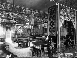 Grand Dining Room Of The Chinese Restaurant