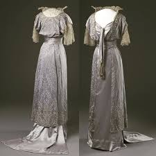 Evening Dress Ca 1910s Worn By Queen Maud Of Norway National Museum