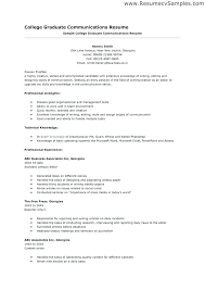 Sample Resume For Summer Job College Student With No Experience How To Make A Application Seeking
