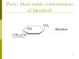 Chair Conformation Of Cyclohexane Ppt by Most Stable Chair Conformation Of Menthol 28 Images Proposal