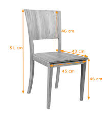 Large Contemporary Solid Oak Dining Chair Oiled Finish