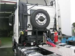 100 Semi Truck Spare Tire Carrier Tyre Carrier Perth Western Australia ACS